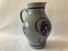 Mauzi & Remy Salt Glaze Pottery Pitcher