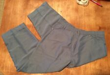 LB05~Ladies WOOLRICH Capri Pants, Size 6, Sky Blue