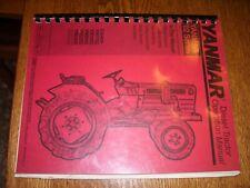 Vintage Yanmar Operators Manual -# Ym1702 - Ym2402 Tractors