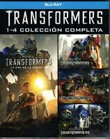 BLU-RAY PACK TRANSFORMES - LA COLECCION COMPLETA 1-4