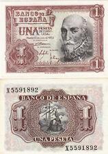 L575 BILLETE ESPAÑA 1 PESETA 1953 SIN CIRCULAR