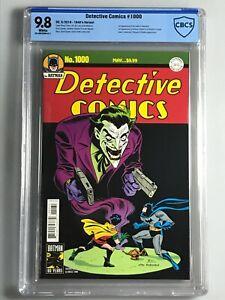 Detective 1000 - CBCS 9.8 -1940's Variant- 1st Guild of Detection, Arkham Knight