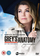 Grey's Anatomy Complete Twelfth Season Series 12 R2 DVD