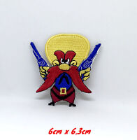 Yosemite Sam Cartoon Characters Iron or Sew on Embroidered Patch applique