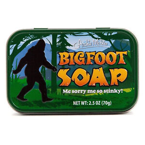 Archie McPhee Bigfoot Soap NEW IN STOCK