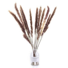 15pcs Artificial Natural Dried Pampas Grass Reed Flower Bunch Home Wedding Decor