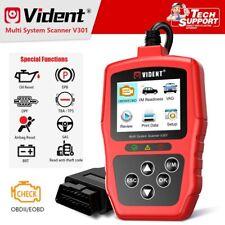 Vident V301 Car Automotive Diagnostic OBDII Scanner Tool Codes  Reader Oil Reset
