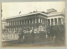 France, Paris, La Bourse, ca.1900, vintage silver print Vintage silver print, mo