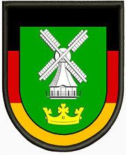 Wappen von Eddelak Aufnäher ,Pin, Aufbügler