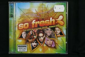 So Fresh: The Hits Of Autumn 2010 + Bonus DVD   - CD  (C1044)