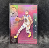 Stephen Curry Pink SSP 2019-20 Panini Illusions NBA #146 Golden State Warriors