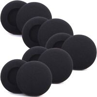 Ear Pads 55mm Replacement Foam Cushion Sponge Cover Headphones Earphones Headset