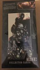KISS ALIVE! Collector Cards 36 packs Per Box 7 Cards Pack Factory Sealed 2001