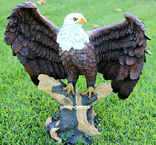 AMERICAN BALD EAGLE STATUE KING OF THE SKIES