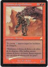 CHAMAN DRAGONHABLANTE FOIL Azote Español  Scourge Dragonspeaker Shaman x1 NM MTG