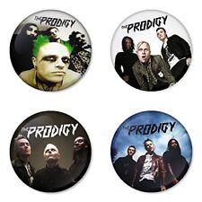 The Prodigy - 4 chapas, pin, badge, button