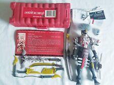 2007 Hasbro GI JOE Sigma 6 DARK NINJA MASTER 100% MINT COMPLETE super RARE