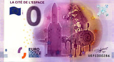 31 TOULOUSE Cité de l'Espace, N° de la 3è liasse, 2016, Billet 0 € Souvenir
