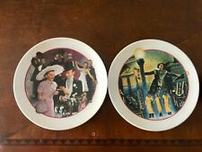 To Avon Decorative Plates Singing In The Rain And Easter Parade