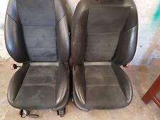 JAGUAR X TYPE SPORT SEATS BLACK LEATHER/ALCANTARA