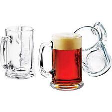 Brewmaster Beer Mugs 15-oz. Set Of 6 Dishwasher Safe Home Kitchen Glassware