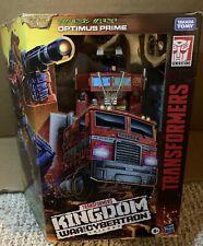 Transformers Generations Optimus Prime Kingdom War For Cybertron Damaged Box New