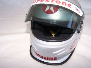 MARIO ANDRETTI HAND SIGNED 1/2 Scale Bell Helmet 1994 ARRIVEDERCI TOUR