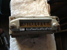 WILL SHIP READ AD TEXT 1952 1953 1954 52 53 54 MERCURY DASH AM RADIO ORIGINAL