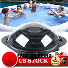Solar Dome Inground Outdoor & Above Ground Swimming Pool Water Heater Black Sets