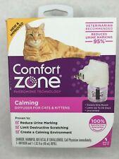 Comfort Zone Calming DIFFUSER for Cats & Kittens Pheromone NEW