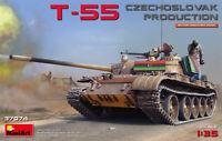 T-55 Checoslovaca Production Tanque 1 :3 5 Plástico Modelo Kit Miniart