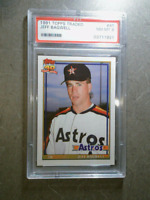 JEFF BAGWELL 1991 Topps Traded #4T Graded RC Vintage Rookie Card PSA 8 ASTROS
