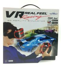 VR Real Feel Virtual Reality Car Racing Gaming System w/ Bluetooth Steering