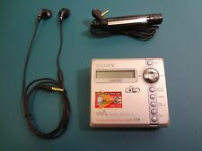 Sony Walkman MZ-N707 MiniDisc MD Player/record.Remote