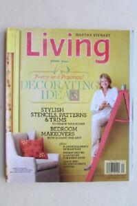 Magazine - Home & Garden - Martha Stewart Living - 75 Decorating Ideas