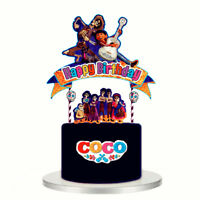 XL FAVORS COCO CUPCAKE TOPPERS CUP CAKE TOPPER Party Supplies BALLOON DECORATION