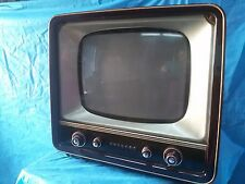 Mobile TV d'epoca PHILIPS modificato con TELEVISORE a Tubo Catodico COLORI TVC !