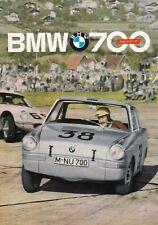 BMW 700 COUPE SPORT Classic Oldtimer Prospekt Brochure 1961 51