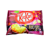 KIT KAT SWEET POTATO | White chocolate covered wafers, Limited time offer Nestle