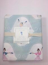 NWT Pottery Barn Kids Girls Ice Dancer Duvet Cover Full/Queen