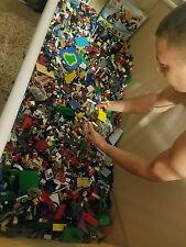LEGO Legos 50 lbs Pounds Bulk Lot of ASSORTED COLORS & PIECES