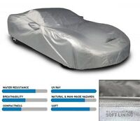 5 Layer Ding Protection Indoor//Outdoor Gray Coverking Mosom Plus Car Cover