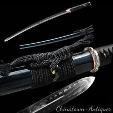 Kogarasu-Maru Uchigatana Sword Katana T10 Steel with Clay Tempered Sharp #2265