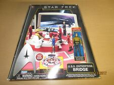 New listing Star Trek Enterprise Bridge Playset Galaxy Collection Floorplan Playmates Kirk