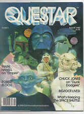 QUESTAR  ISSUE 8  AUGUST  1980  STAR WARS  ROBERT BLOCH  EMPIRE STRIKES BACK
