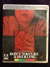Don't Torture A Duckling Blu-ray + Dvd 2-Disc Combo Arrow Video With Booklet