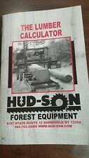 Lumber Calculator Portable Sawmill Saw Mill Chainsaw Chain saw Bandmill Band mil