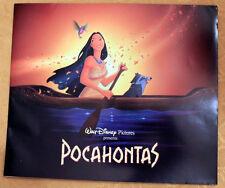 Pocahontas 1995 Central Park Premiere Program