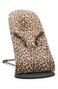 BABYBJÖRN® Bouncer Bliss  Beige Leopard Cotton New