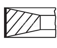 MAHLE ORIGINAL Piston Ring Kit 014 72 N1
